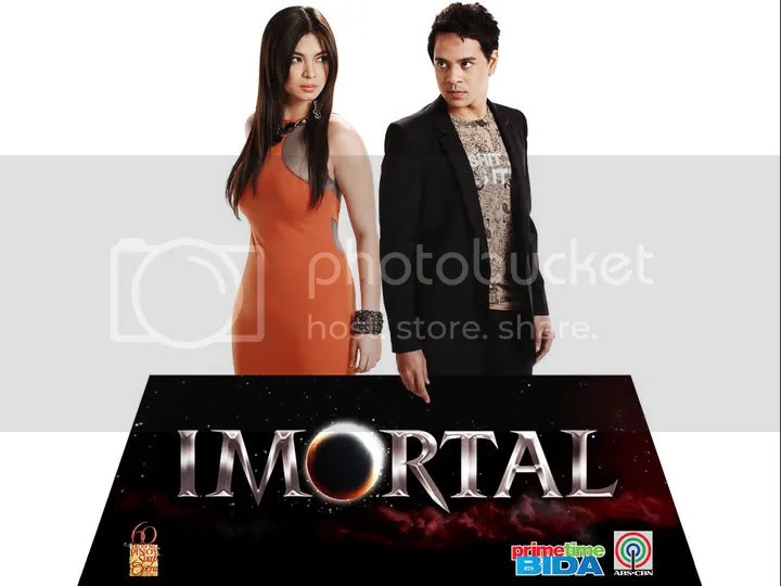 "Check out the teaser trailer of the much-anticipated fantaserye ""Imortal"" starring Angel Locsin and John Lloyd Cruz."