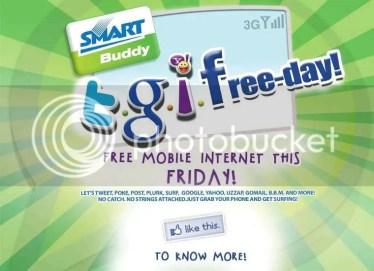 Smart TGIF big and free promo