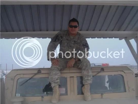 Me, Besamya Tank Range, FOB Hammer, Iraq