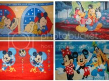 Disney Mickey Amp Minnie Mouse Fleece Throw Panel Blanket ...
