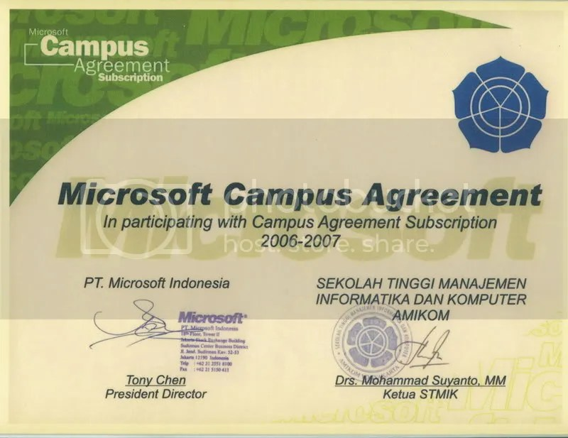 Microsoft Campus Agreement