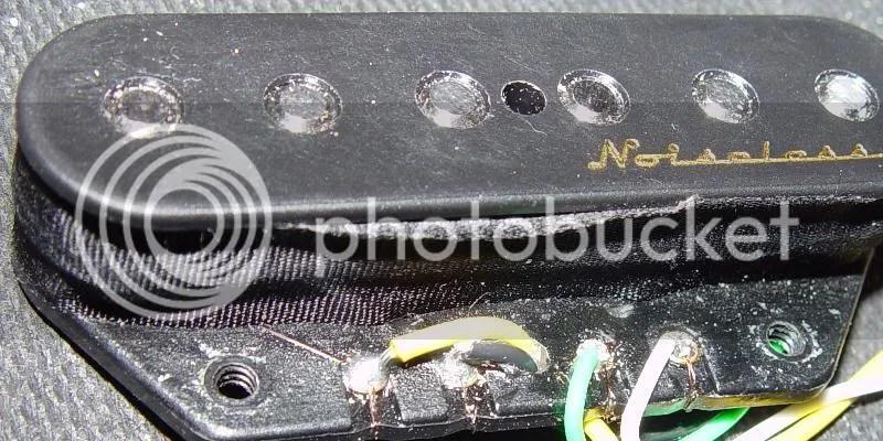 Fender Pickups Wiring Diagram Fender Hot Noise Less Pickups Wiring