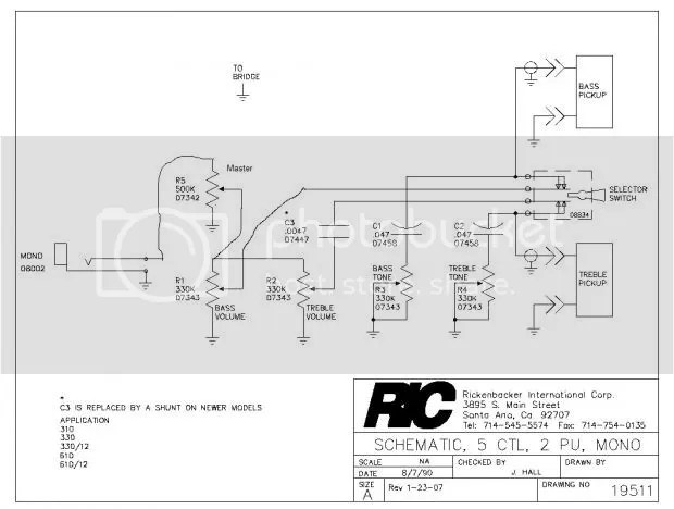 Rickenbacker 330 Wiring Diagram : 31 Wiring Diagram Images