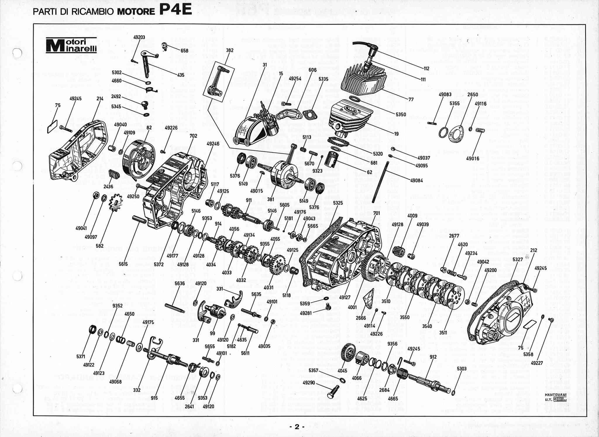 Minarelli P6/P4R