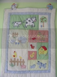 FS: Kidsline Barnyard crib bedding set - Cloth Diapers ...