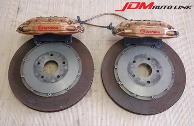 JDM Auto Link: Brembo F50 Calipers with 370mm 2pc rotors