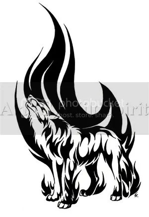 Tattoos :: HowlingFlameWolfTattoo.jpg picture by shinengume - Photobucket