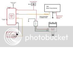 Msd 6al Wiring Diagram Mopar Mercury Verado A Mallory Unilite Dist Directly To The Coil