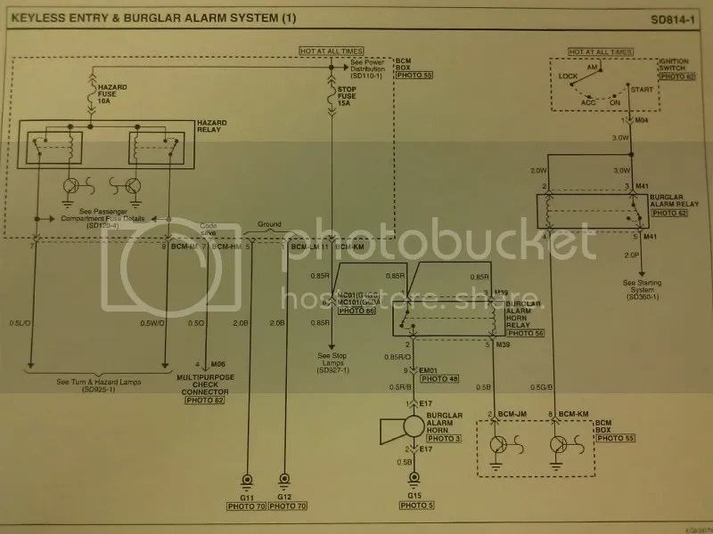 Keyless Entry Wiring Diagrams