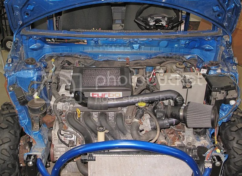 toyota yaris trd turbo kit lampu stop grand new veloz fs oem vios forums ultimate test fit of the manifold with on crashy