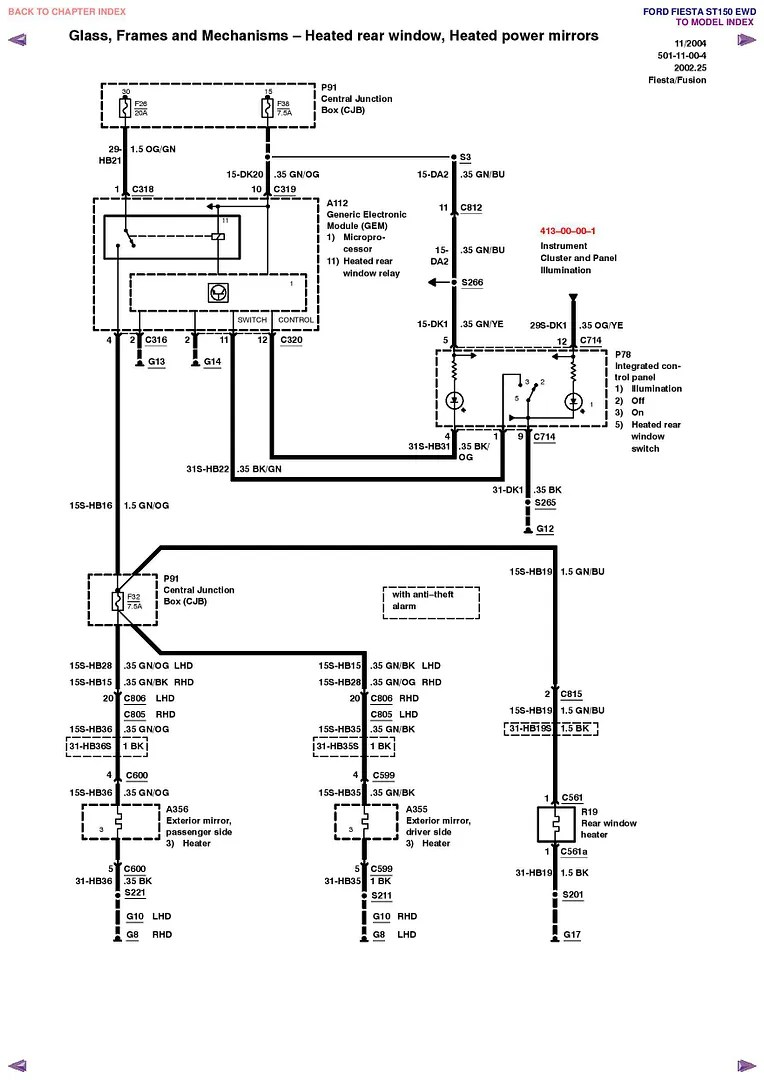 Ford Focus Stereo Wiring Diagram At Radio Saleexpert Me