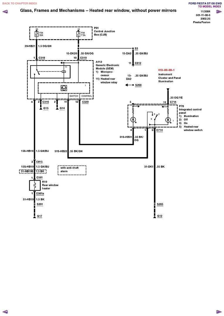 [DIAGRAM] Ford Fiesta Mk6 Wiring Diagram FULL Version HD