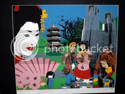 Three Crazy Kids and a Geisha