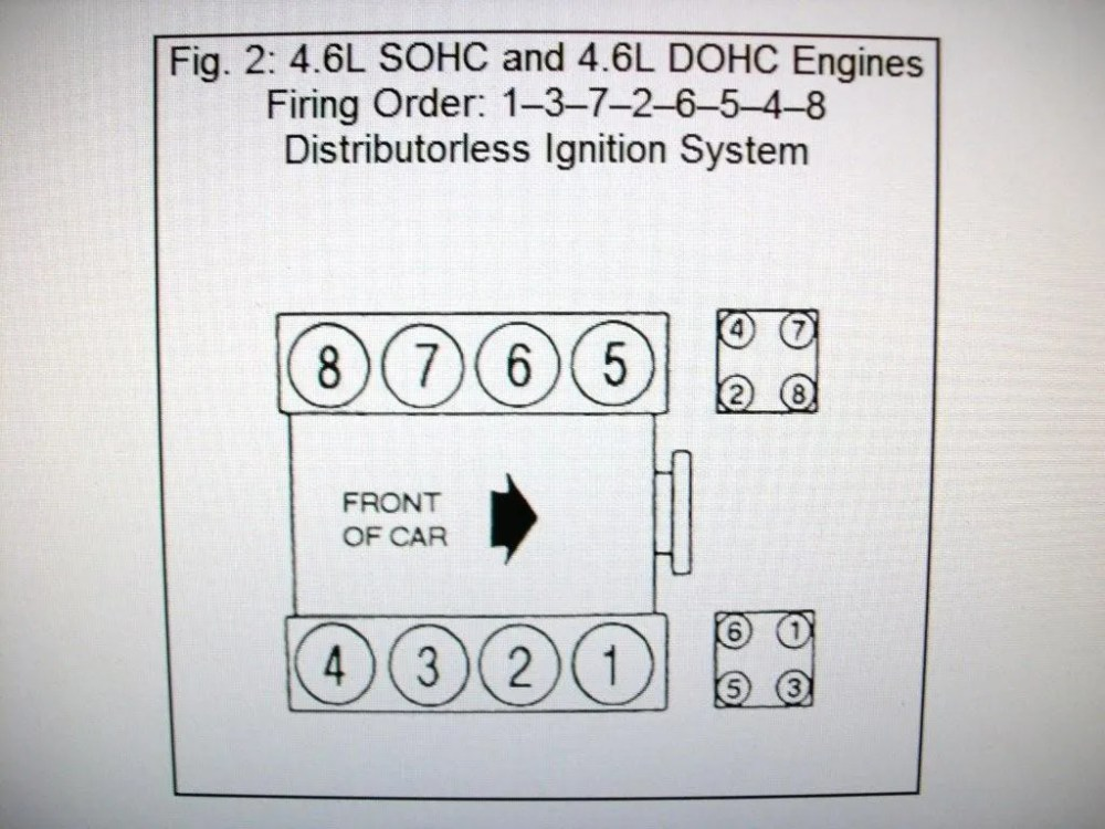 medium resolution of 4 6 liter ford engine firing order diagram online wiring diagram4 6 liter ford engine firing