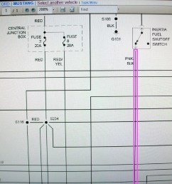 fuel system wiring diagram for 2000 mustang [ 1280 x 960 Pixel ]