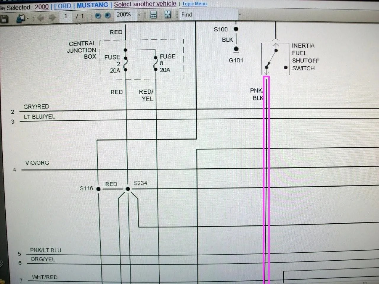 95 mustang gt fuel pump wiring diagram car tow hitch where is the relay mustangforums com these wires run directly to your from driver module good luck hope this helps tommy
