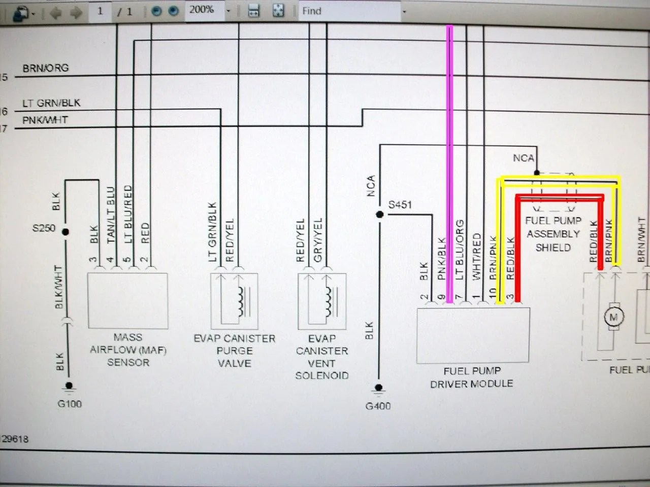 95 mustang gt fuel pump wiring diagram lpg conversion where is the relay mustangforums com these wires run directly to your from driver module good luck hope this helps tommy