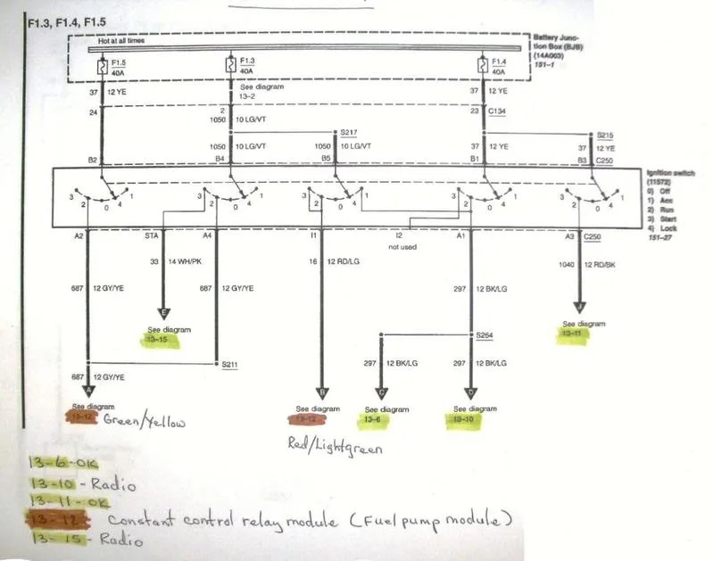 2001 mustang wiring harness diagram wiring diagram - 2001 impala radio  wiring diagram on popscreen