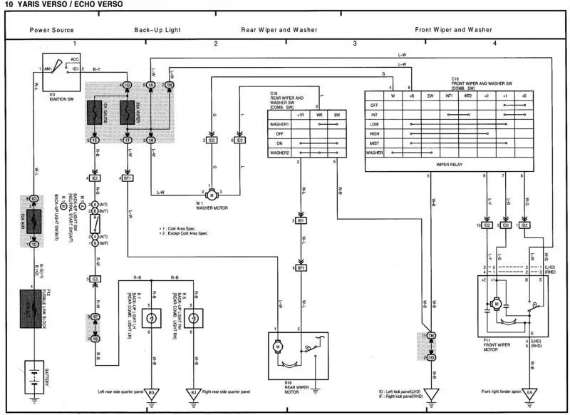 wiring diagram for toyota echo