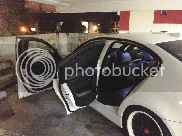 BMW Customized Car Curtains – E90 BMW SG Singapore BMW Owners