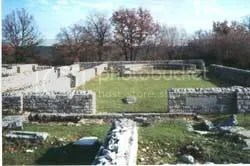 I resti archeologici a Nesazio