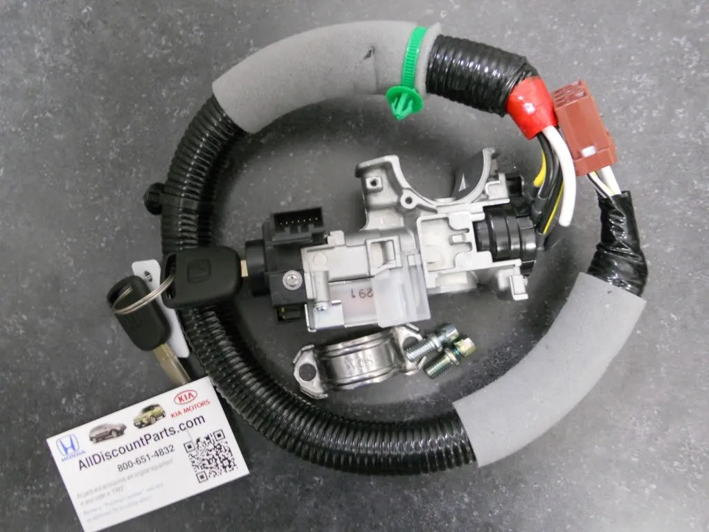 2003 Honda Pilot Ignition Wiring