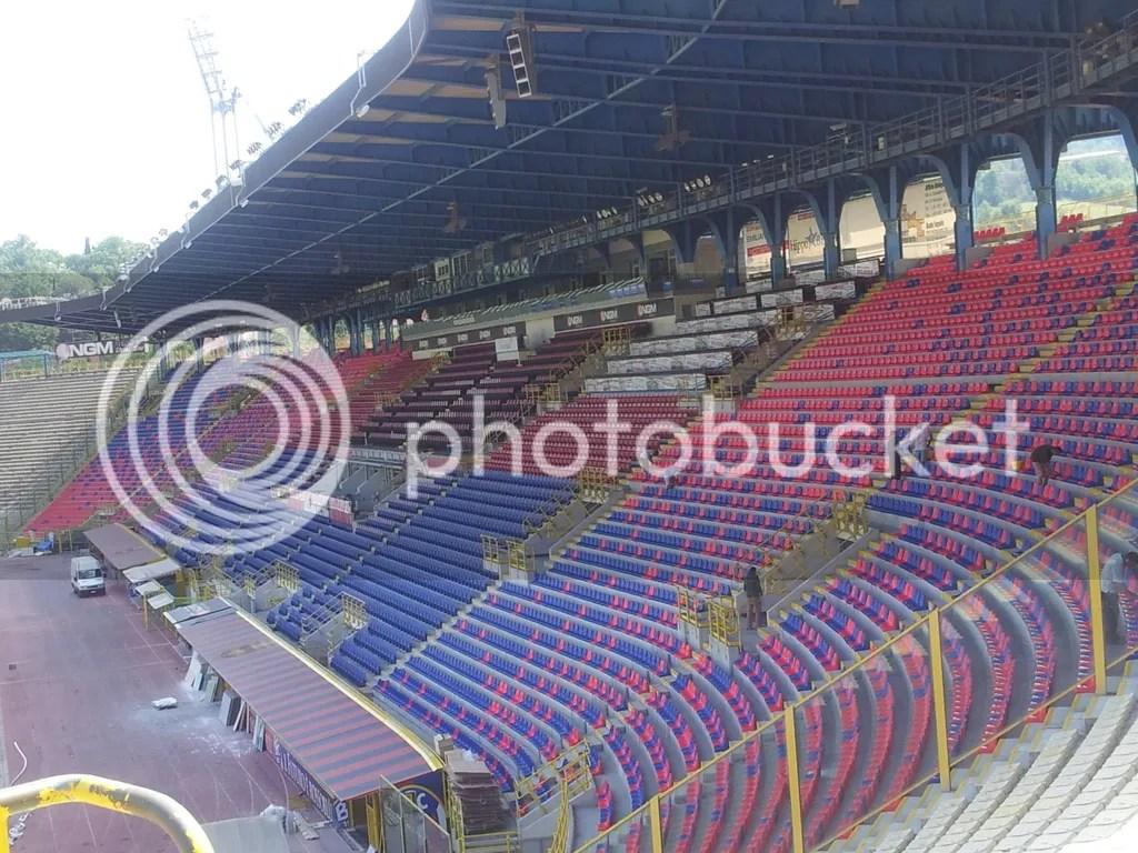 BOLOGNA  Ristrutturazione Stadio Renato DallAra  27000