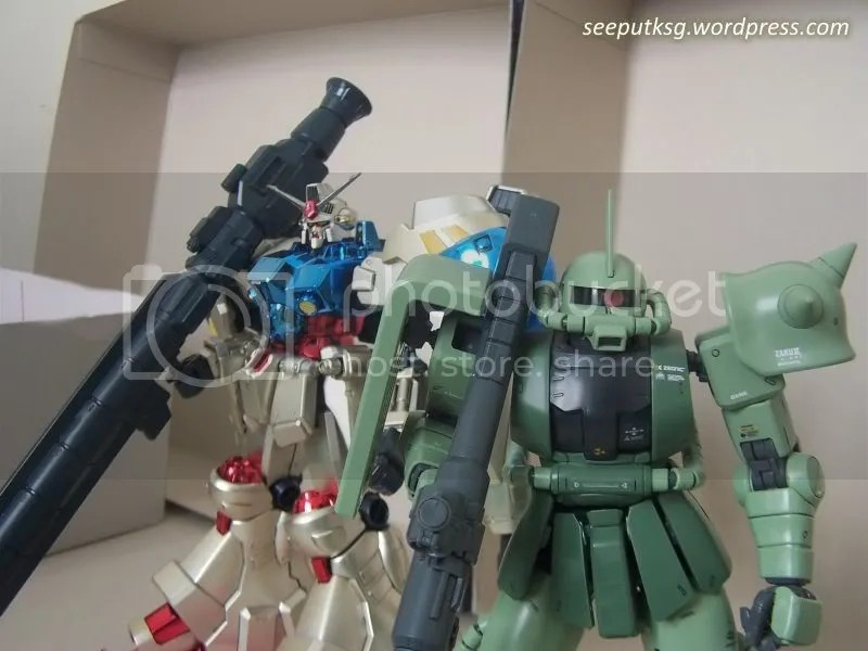 GP02A with Zaku II