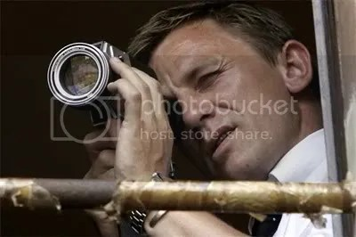 Daniel Craig is James Bond again in Quantum of Solace aka Bond 22.