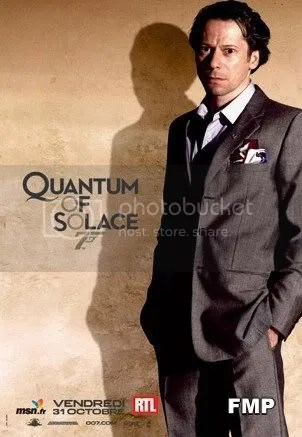 Mathieu Amalric - the vilain of the new james Bond movie - Quantum of Solace