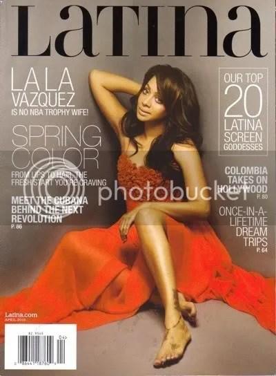 La La Vazquez Latina Cover