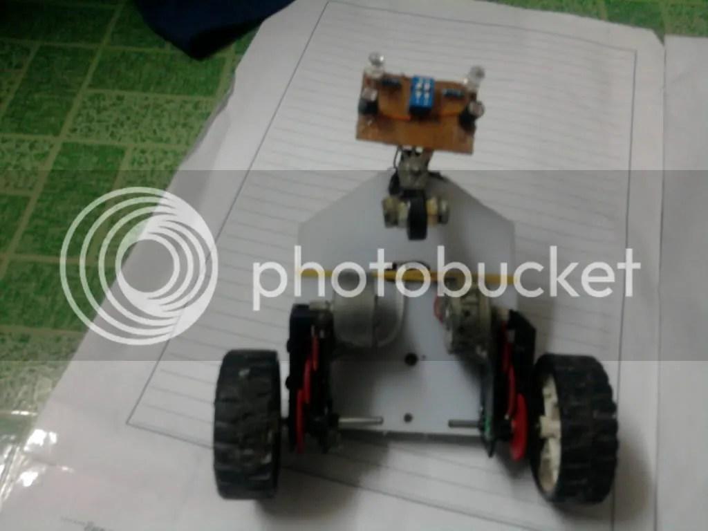 robot do duong