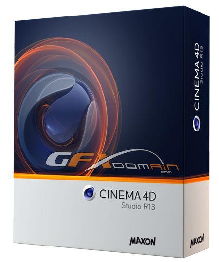 MAXON CINEMA 4D R13.058 (Update Advanced Render, VRay)