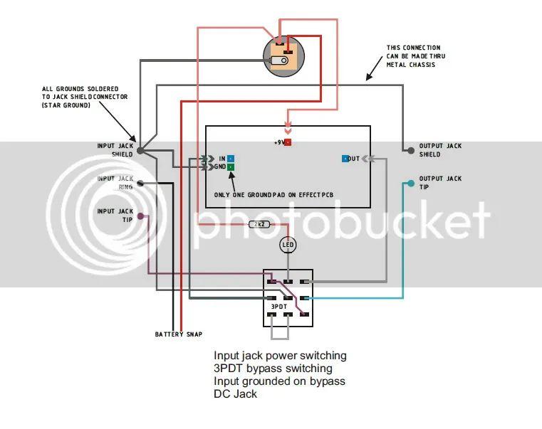 3pdt wiring board
