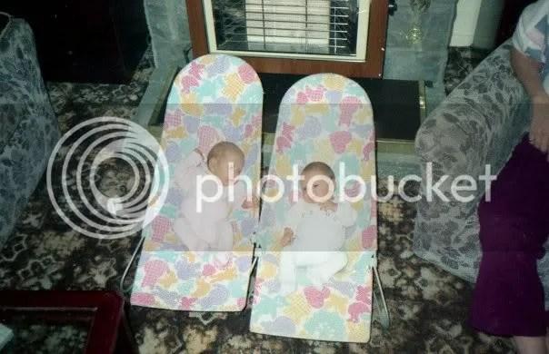 My Twins John and Sarah