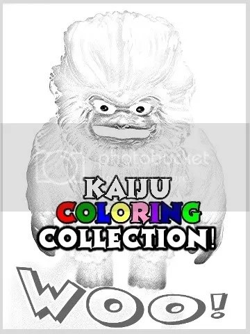 Kaiju Coloring on Flickr