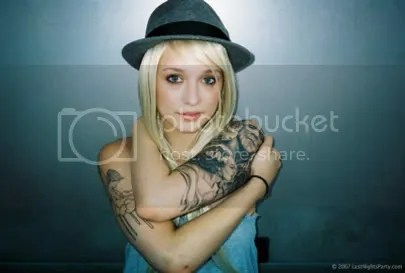 Girl Tattoo Artist