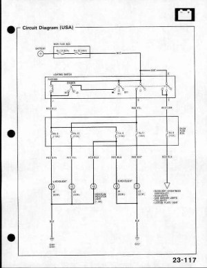 Need headlight wiring diagram Please Help!  HondaTech