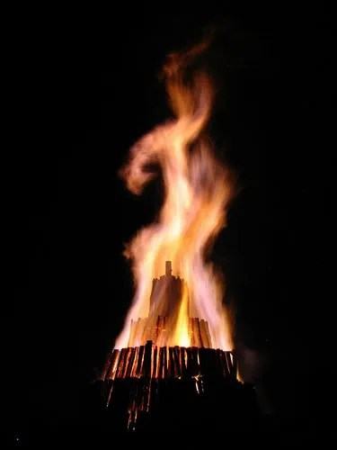 Aggie Bonfire Continues to Burn Off Campus, Out of Control of Administrators