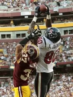 Andre Johnson Redskins catch