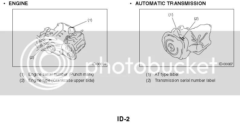 Subaru Liberty and Subaru RX Impreza Engine and