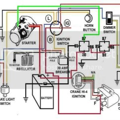 Tachometer Wiring Diagram For Motorcycle 1 Switch 2 Lights Uk Harley Davidson Free 2006 Sportster Dummies Installation