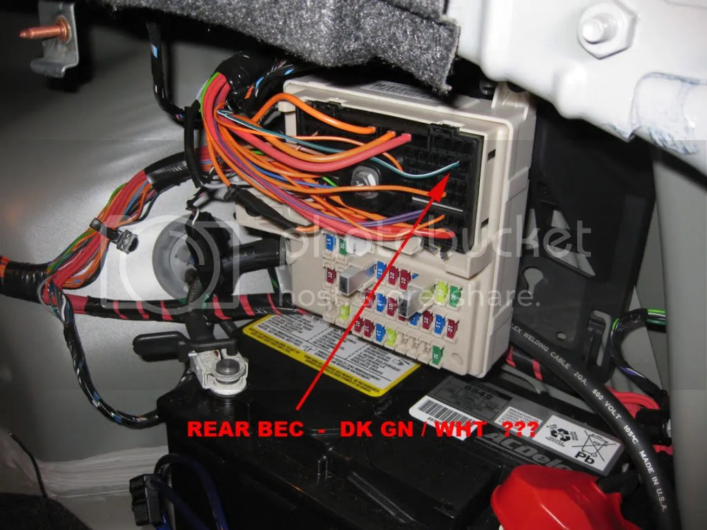 2006 Cadillac Escalade Fuse Box Diagram Help Remote Power Loss To Additional Subwoofer