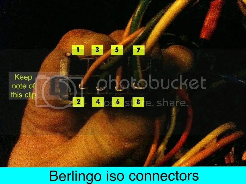 Citroen Berlingo Van Radio Wiring Diagram: Citroen Berlingo Wiring Diagram  Radio - Wiring Diagram,