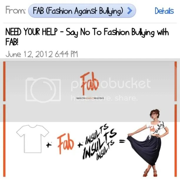 Fashion Against Bullying