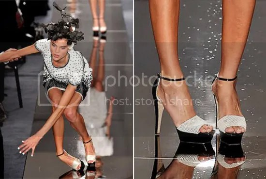 Fashion Runway Accident