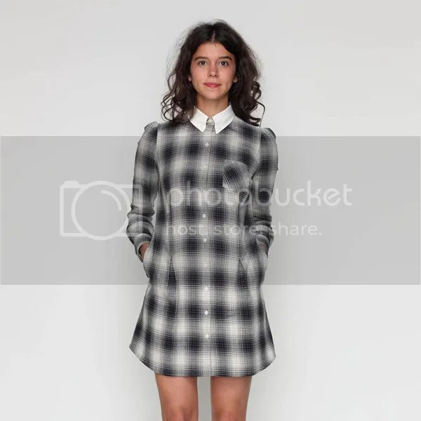 Plaid Trend Trendy Fashion Dress