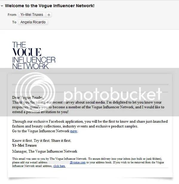 Vogue Influencer Network