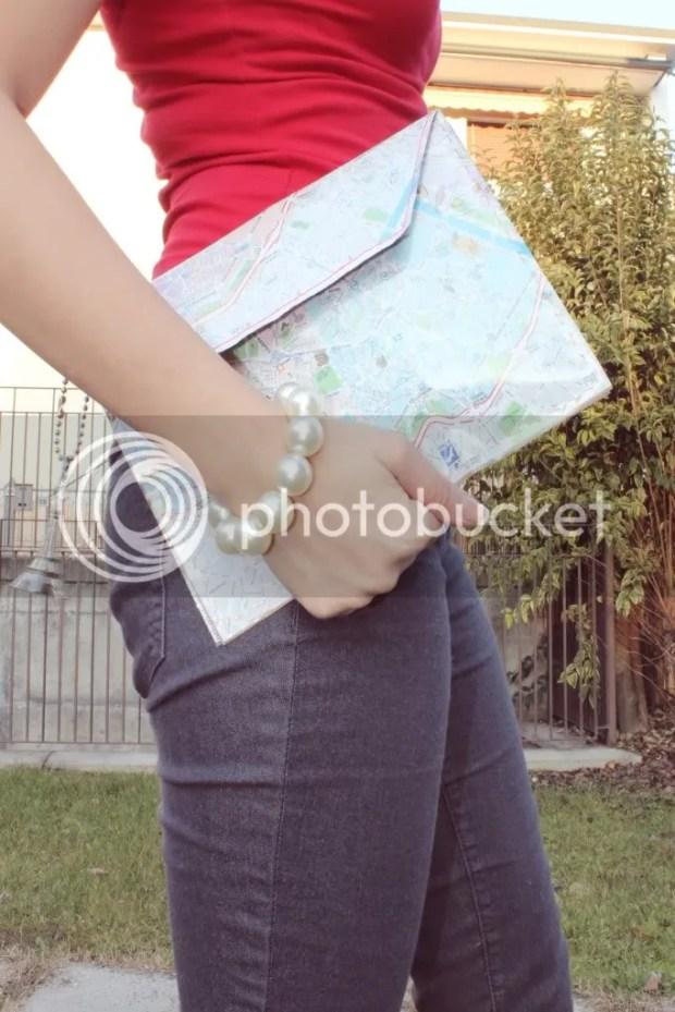 DIY envelope clutch Fashion Style Blogger koreandoll miss angel