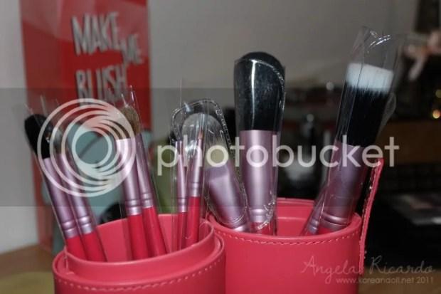 Angela Ricardo Review Sigma Make Me Up Professional Brush Kit koreandoll